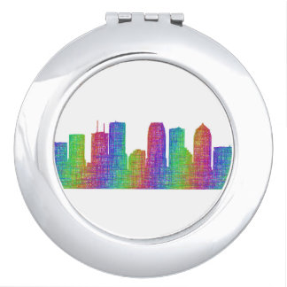Tampa skyline mirrors for makeup