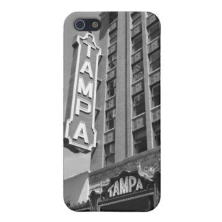 Tampa Theatre iPhone 5 B&W Photo Cell Phone Case Case For iPhone 5/5S