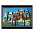 Tampa Vintage Poster City of Tampa