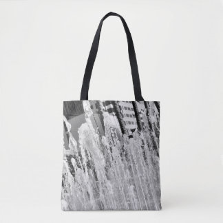 Tampa Water Fountain Tote Bag