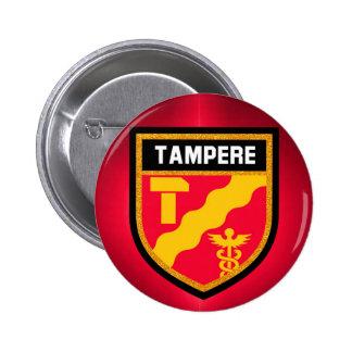 Tampere Flag 2 Inch Round Button