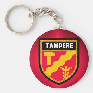 Tampere Flag Keychain
