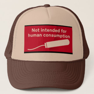 tampons trucker hat