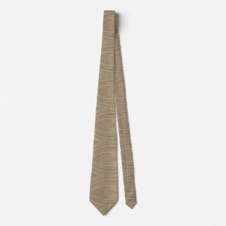 Tan and Brown Pattern Tie