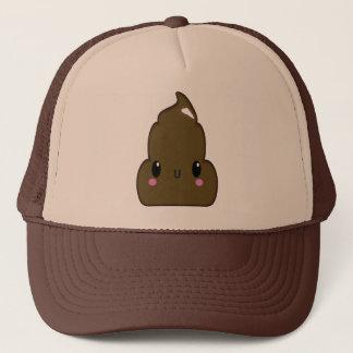 Tan and Brown Poo Hat