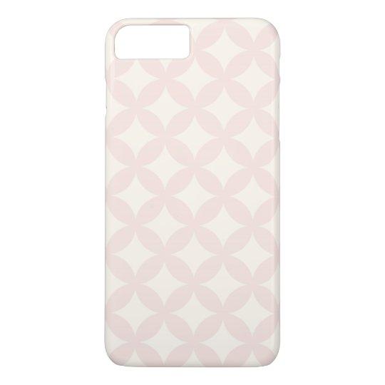 Tan and Cream Geocircle Design iPhone 7 Plus Case