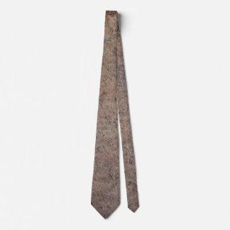 Tan and Dark Gray Rock Formation Tie