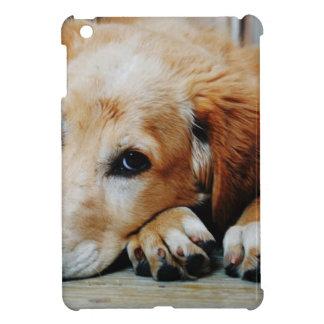 Tan and White Short Coat Dog iPad Mini Case