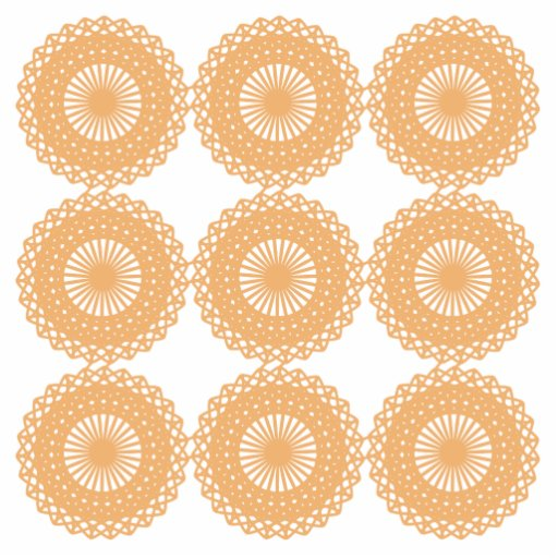 Tan Color Lace Pattern. Photo Sculptures