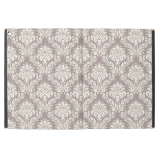 Tan Damask iPad Pro Case