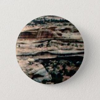 tan desert fill 2 inch round button