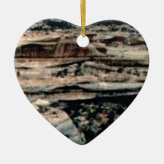 tan desert fill ceramic ornament