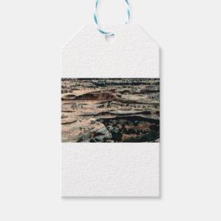 tan desert fill gift tags
