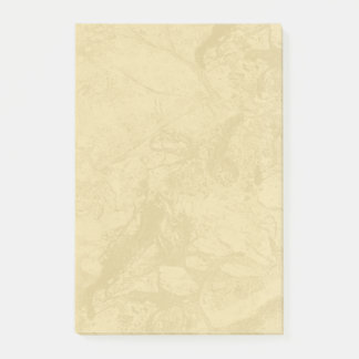 Tan Marble Post-it Notes