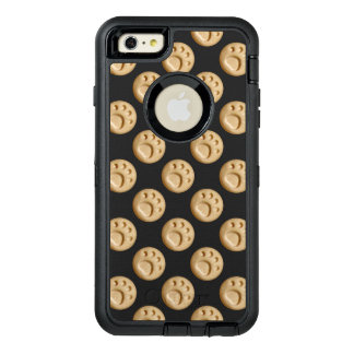 Tan Paw Print Dot OtterBox Defender iPhone Case