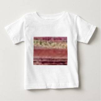 tan red rock lines baby T-Shirt