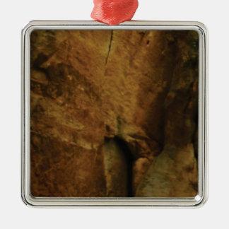 tan rock texture metal ornament