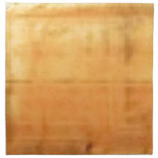 tan smooth texture napkin
