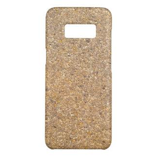 Tan Stone Rock Textured Pattern Background Case-Mate Samsung Galaxy S8 Case