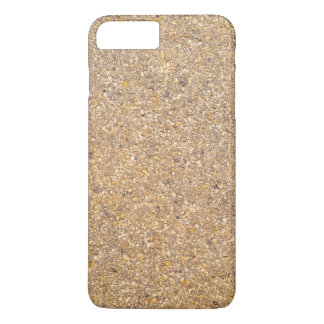 Tan Stone Rock Textured Pattern Background iPhone 8 Plus/7 Plus Case