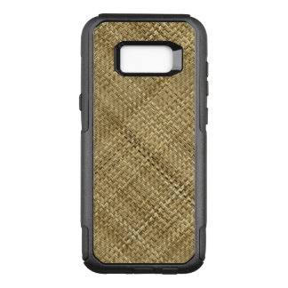 Tan Tight Weave Basketry OtterBox Commuter Samsung Galaxy S8+ Case