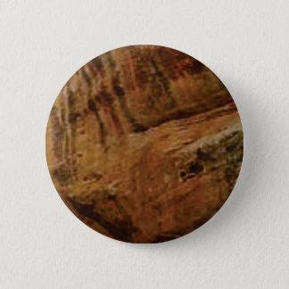 tan vertical sandstone lines 2 inch round button
