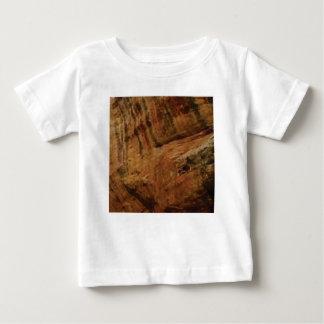 tan vertical sandstone lines baby T-Shirt