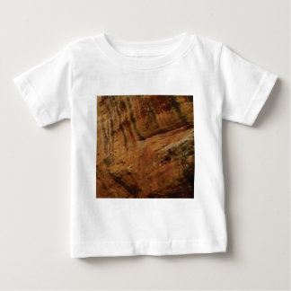 tan vertical sandstone lines baby T-Shirt