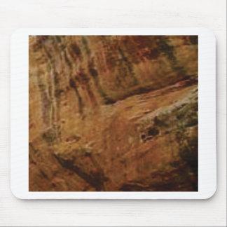 tan vertical sandstone lines mouse pad
