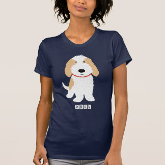 Tan & White PBGV Dog T-Shirt