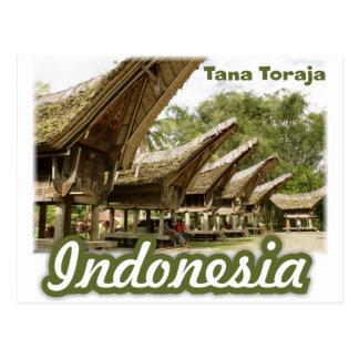 Tana Toraja Indonesia Souvenir Postcard