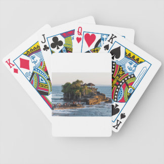 Tanah-Lot Bali Indonesia Bicycle Playing Cards