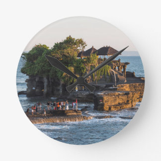 Tanah-Lot Bali Indonesia Round Clock