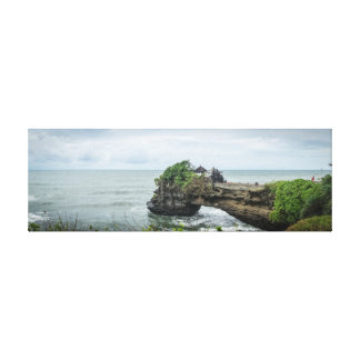 Tanah Lot sea temple in Balli, Indonesia Canvas Print
