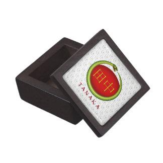 Tanaka Monogram Snake Premium Trinket Box