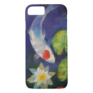 Tancho Koi and Water Lily iPhone 7 Case