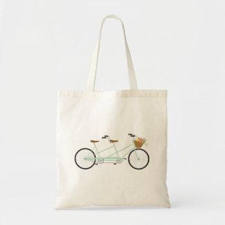 Tandem Bike Tote Bag