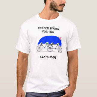 Tandem Biking T-Shirt