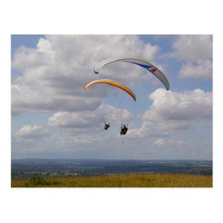 Tandem Gliding Postcard