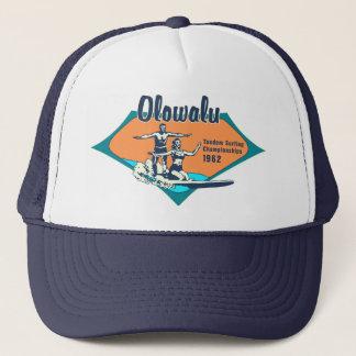 Tandem Surfing Hawaiian Retro Trucker Hats