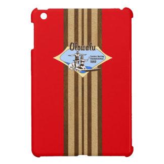 Tandem Surfing Hawaiian Surfboard iPad Mini Cases