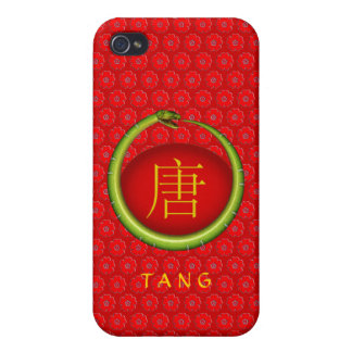 Tang Monogram Snake iPhone 4 Case