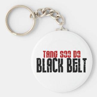 Tang Soo Do Black Belt Karate Keychain