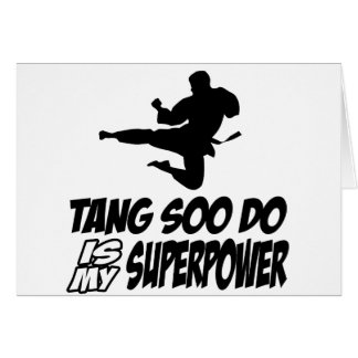 tang soo do is my superpower card