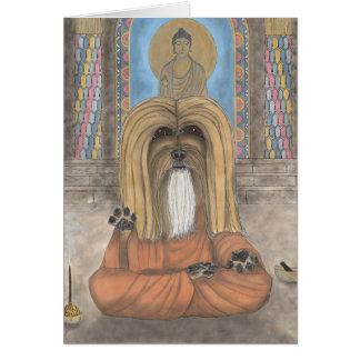 Tang, the Lhasa Apso Card