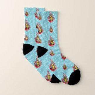 Tanga the Seahorse Socks 1