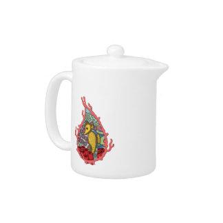 Tanga the Seahorse Tea Pot