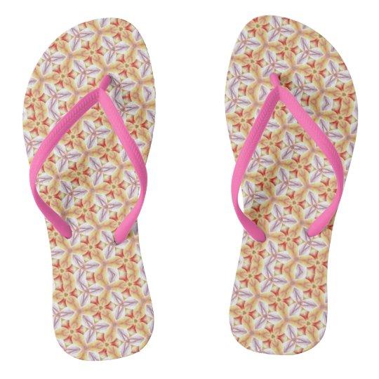 Tangelo Flip Flops