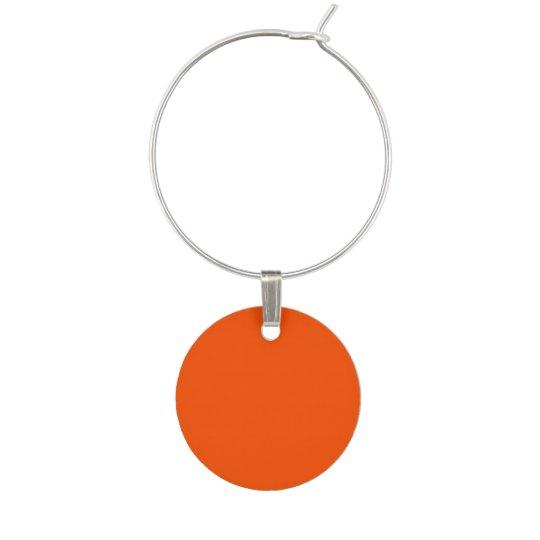 Tangelo Orange Wine Charm