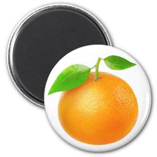 Tangerine 2 Inch Round Magnet